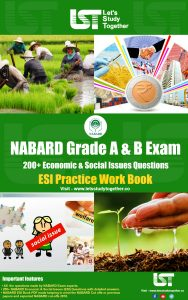 NABARD Economic & Social Issues (ESI) Practice Work Book