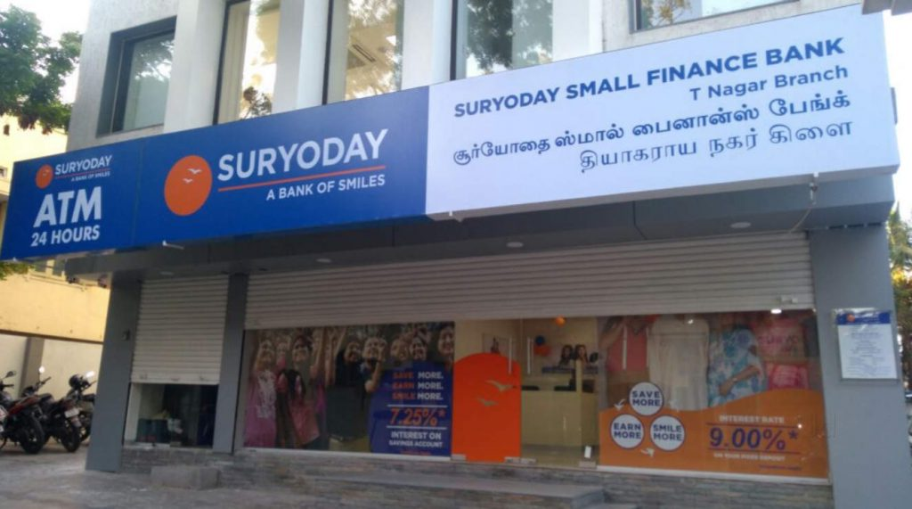 Small Finance Banks in India - Suryoday Small Finance Bank