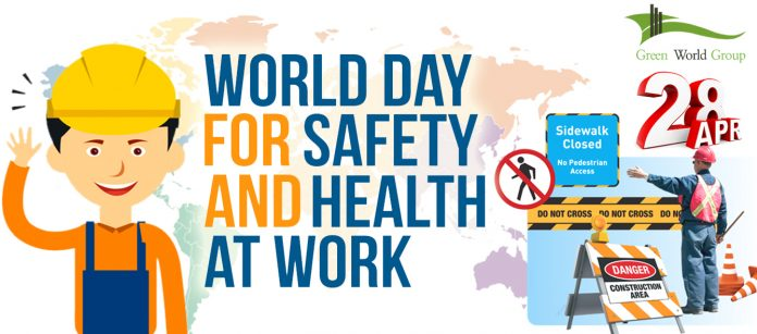 World Day For Safety And Health At Work Is Observed On 28 April Every Year