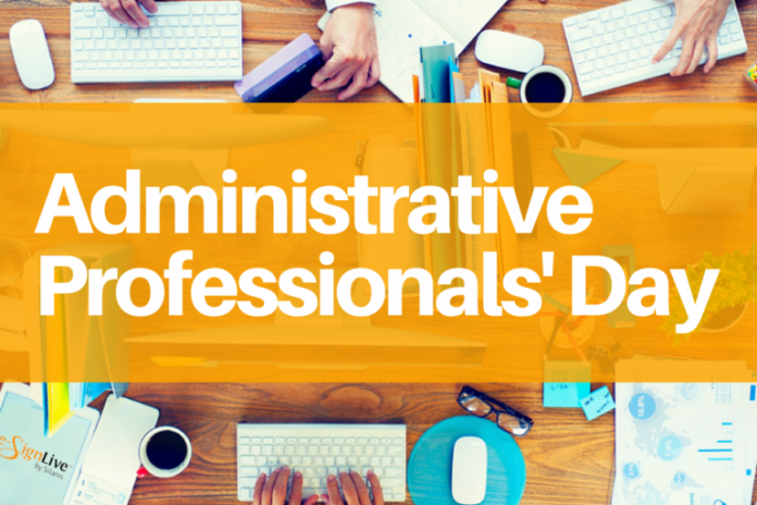 Secretary's Day or Administrative Professionals Day Is Observed On 21 April In India