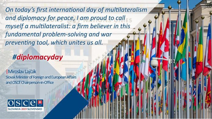 International Day of Multilateralism and Diplomacy for Peace is observed on 24th April