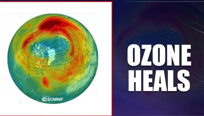 The Largest Hole In The Ozone Layer Is Closed Due To Unusual Atmospheric Conditions