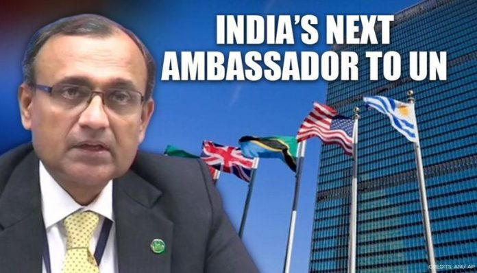 T.S. Tirumurti appointed as Permanent Representative of India to United Nations(UN) at New York