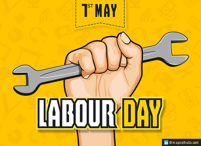 International Labour Day is observed on 1 May Every Year